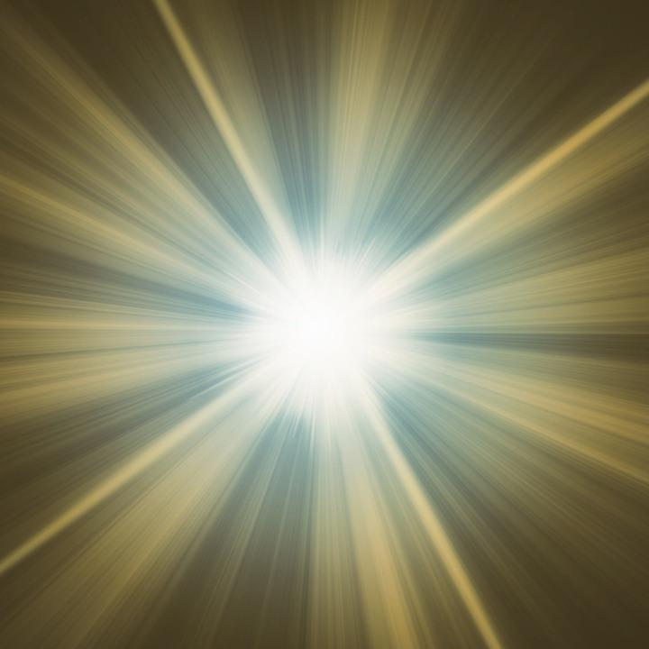 Background ánh sáng toả ra