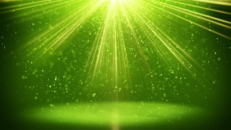 Background ánh sáng xanh lá