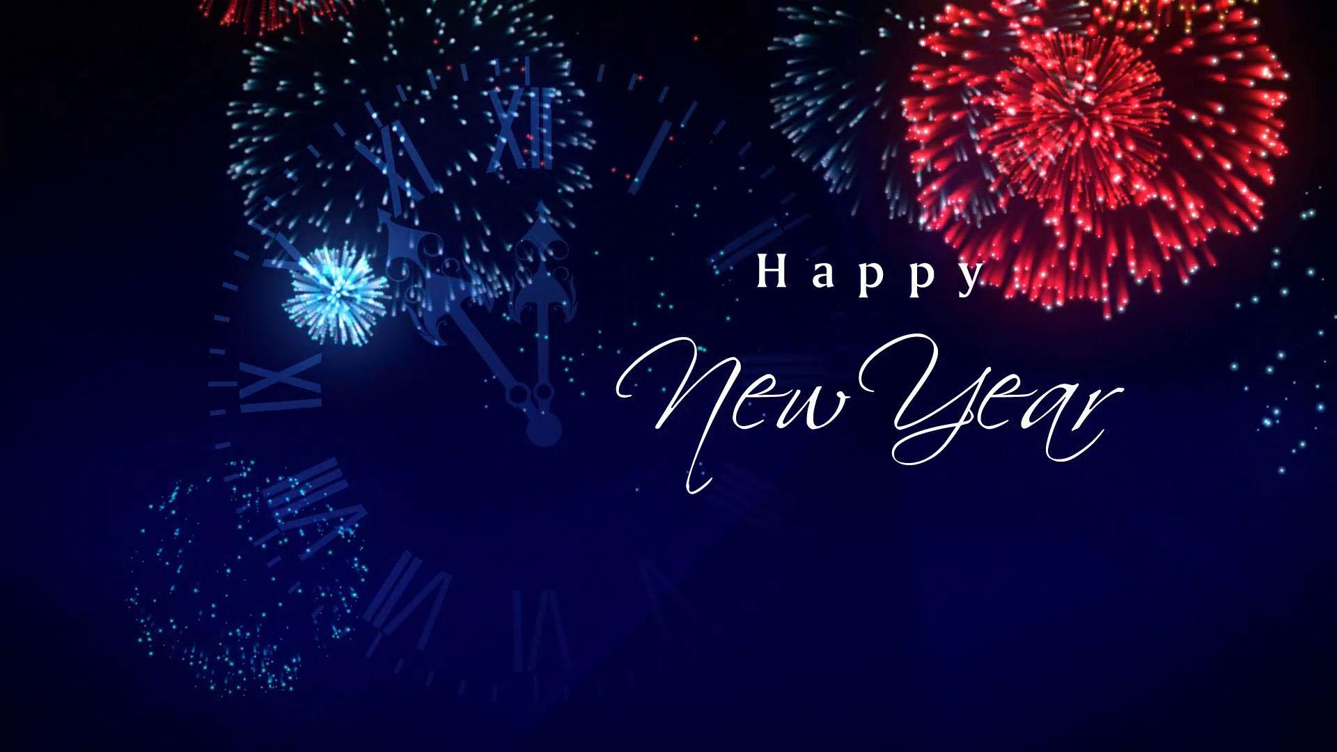 Background chào mừng năm mới
