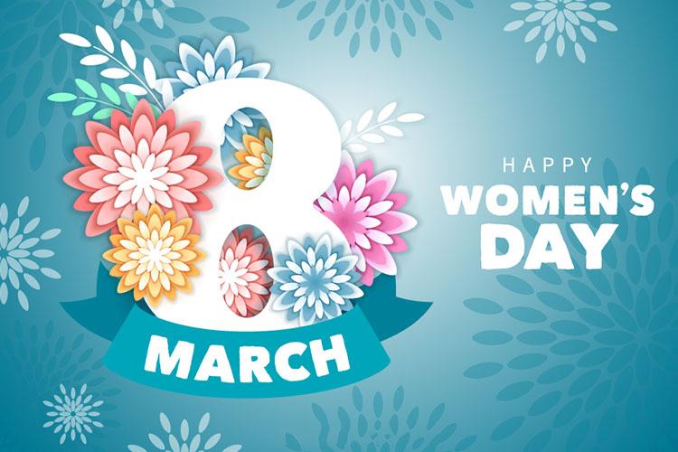 Background chào mừng ngày quốc tế phụ nữ