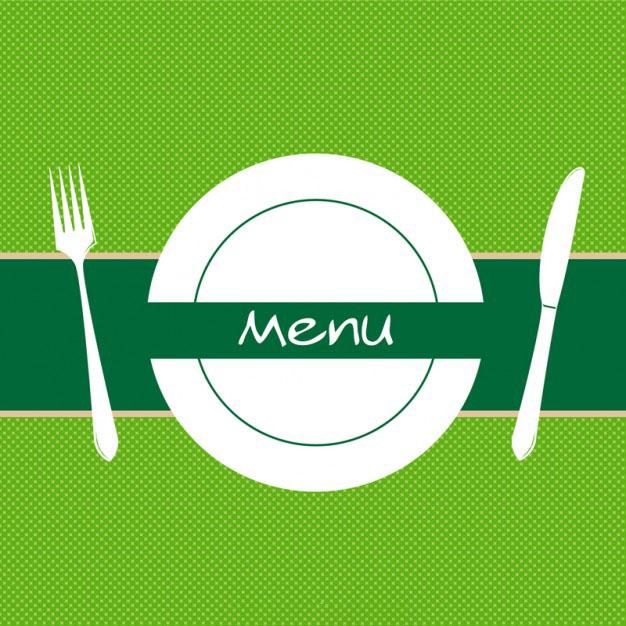 Background dành cho menu đồ ăn
