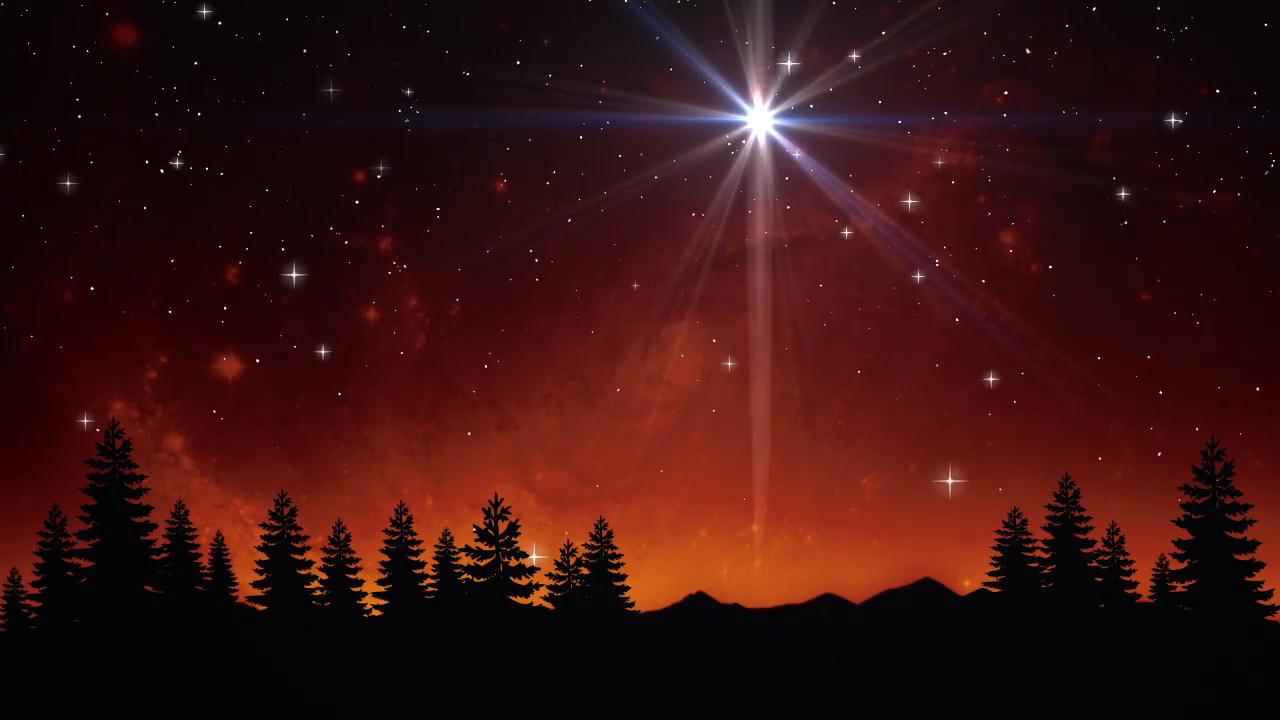 Background đêm giáng sinh