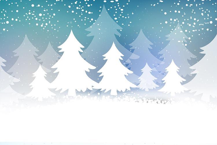 Background giáng sinh tuyết trắng
