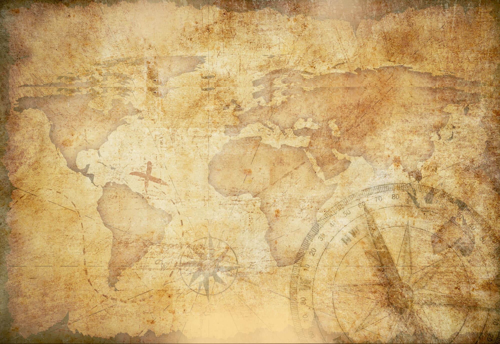 Background giấy cũ bản đồ