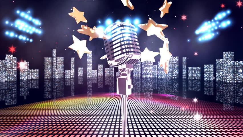 Background karaoke 3D