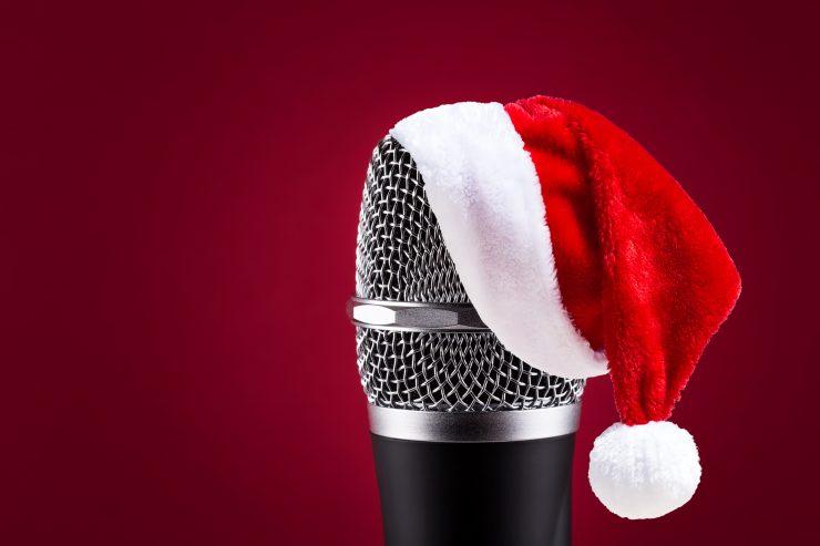 Background karaoke giáng sinh