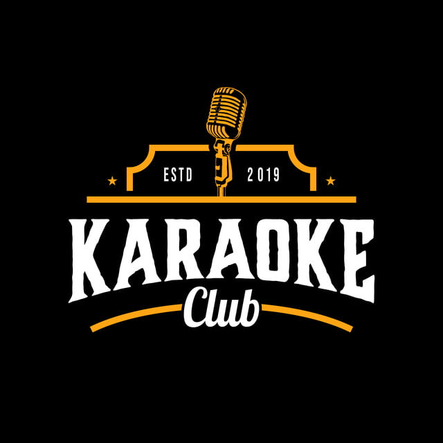 Background karaoke logo