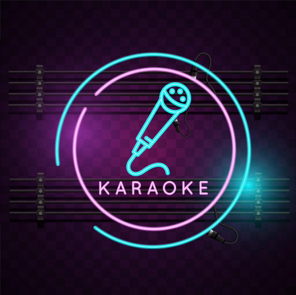 Background karaoke nghệ thuật