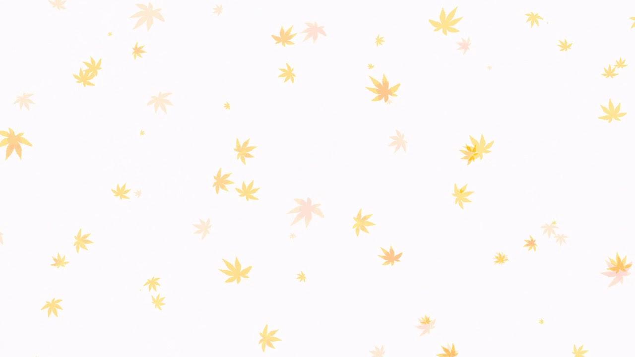 Background lá vàng