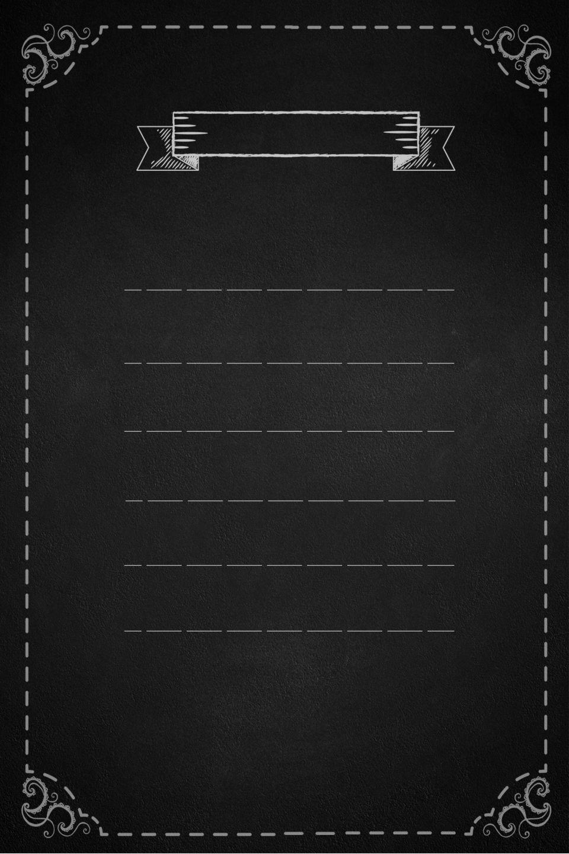Background menu danh sách món