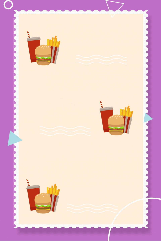 Background menu đồ ăn nhanh