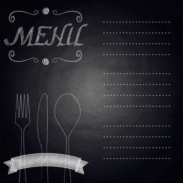 Background menu đồ ăn