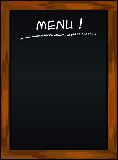 Background menu đơn giản