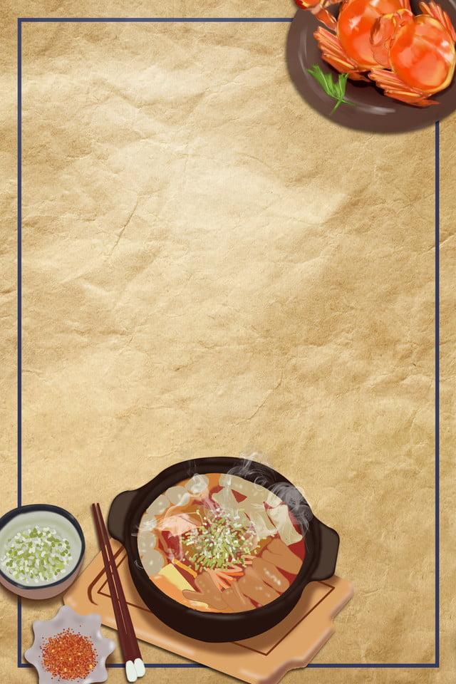 Background menu món ăn ngon