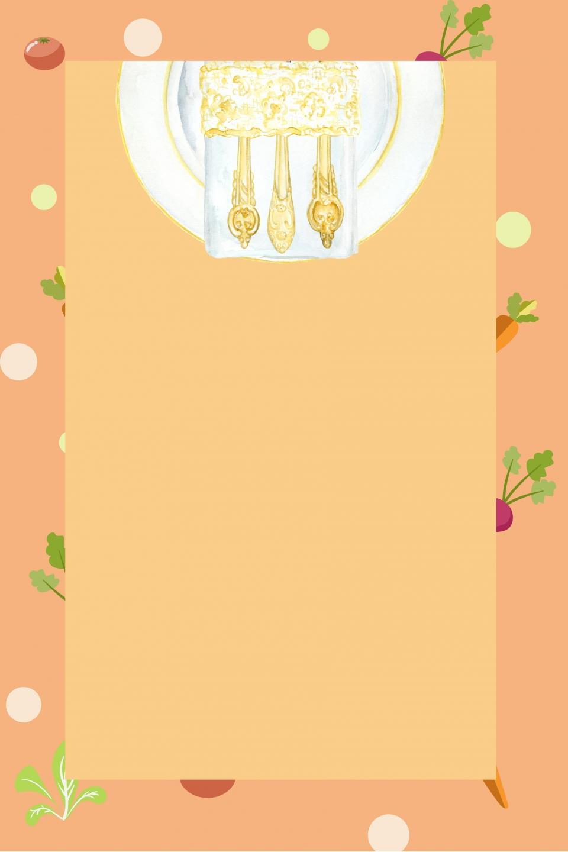 Background menu nhà hàng