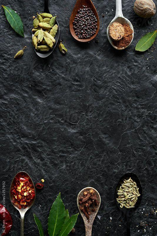Background menu thực phẩm