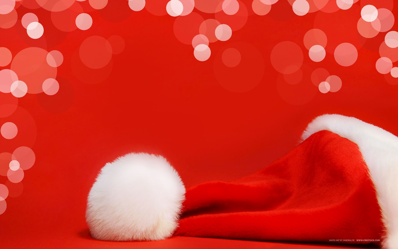Background mũ giáng sinh
