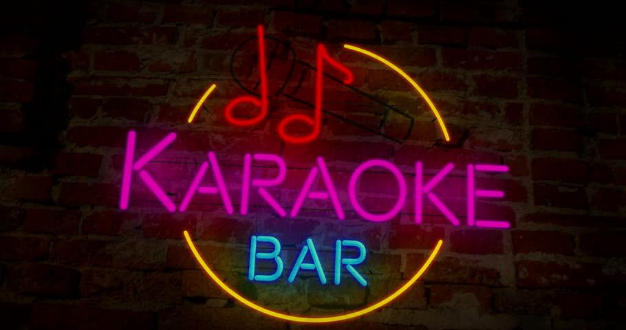 Background quán karaoke