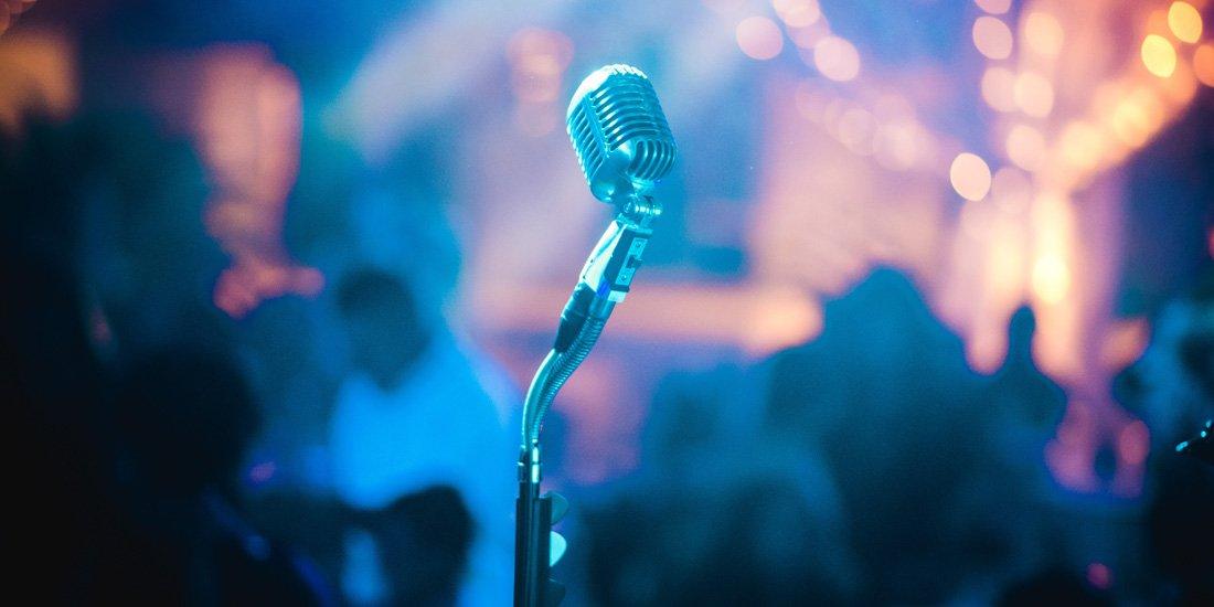 Background sân khấu karaoke