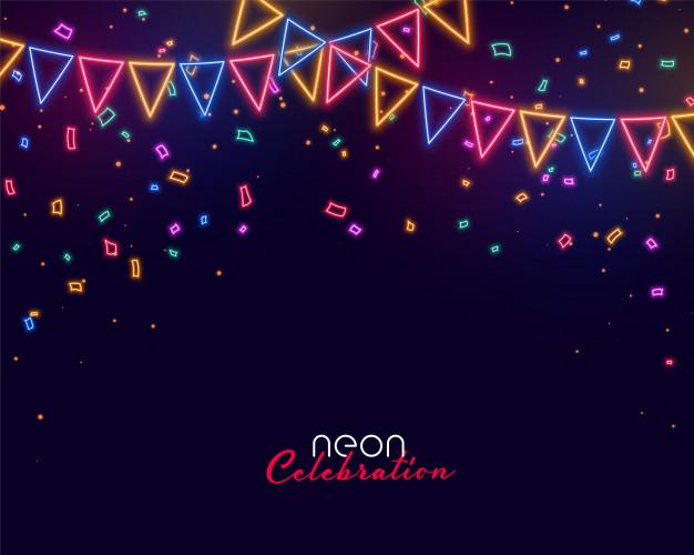 Background tiệc chào mừng