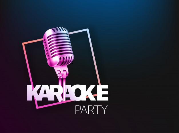 Background tiệc karaoke