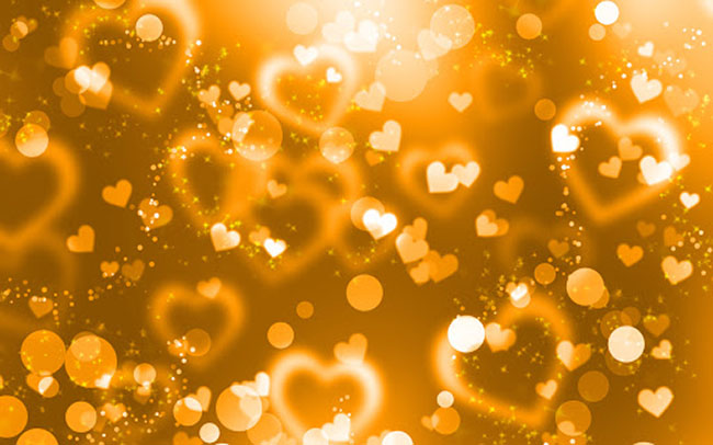 Background vàng cam đẹp