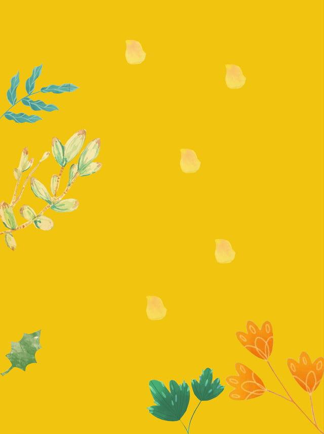 Background vàng dễ thương