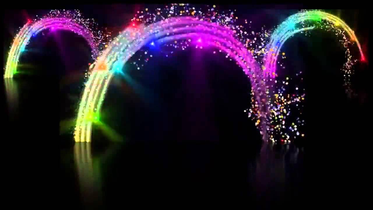 Background video ánh sáng
