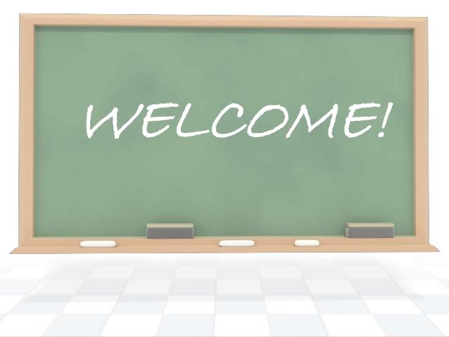 Hình ảnh bảng chữ welcome