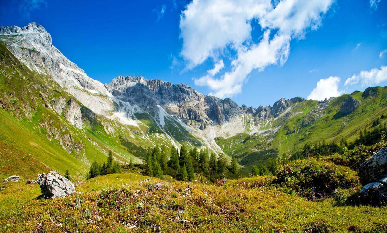 Hình ảnh đẹp núi và thung lũng