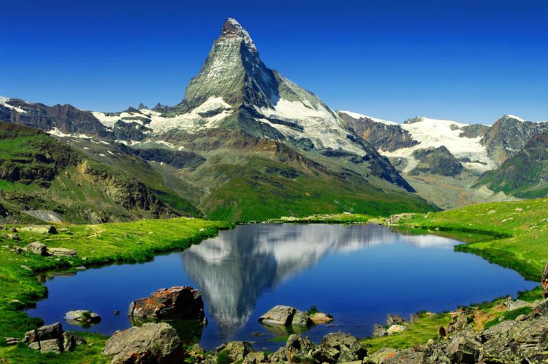 Hình ảnh hồ núi đẹp