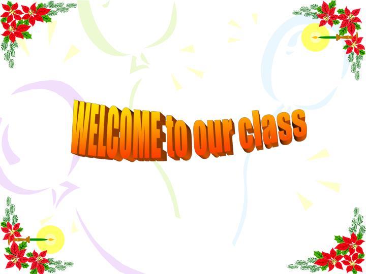 Hình ảnh mở đầu welcome