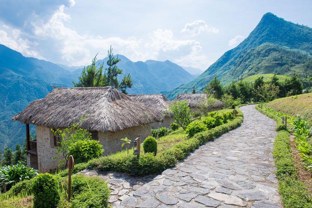 Hình ảnh nhà trên núi