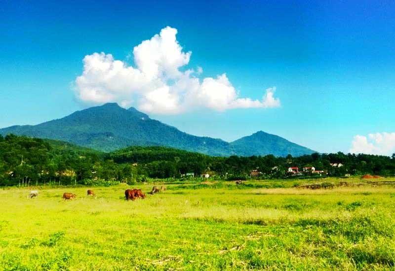 Hình ảnh núi Ba Vì