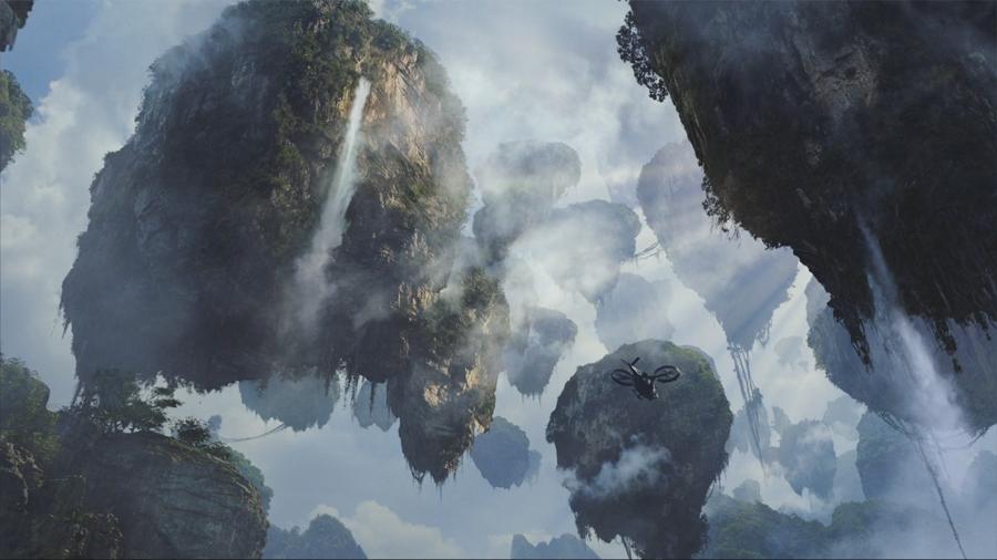 Hình ảnh núi bay