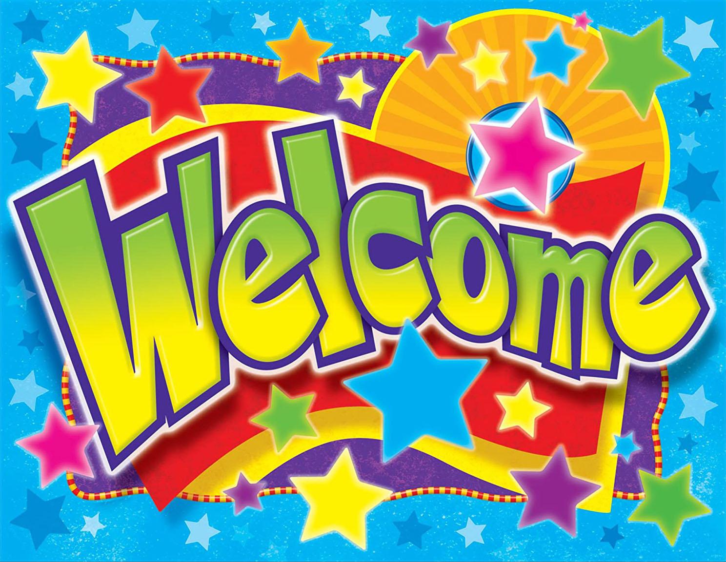 Hình ảnh slide chữ welcome