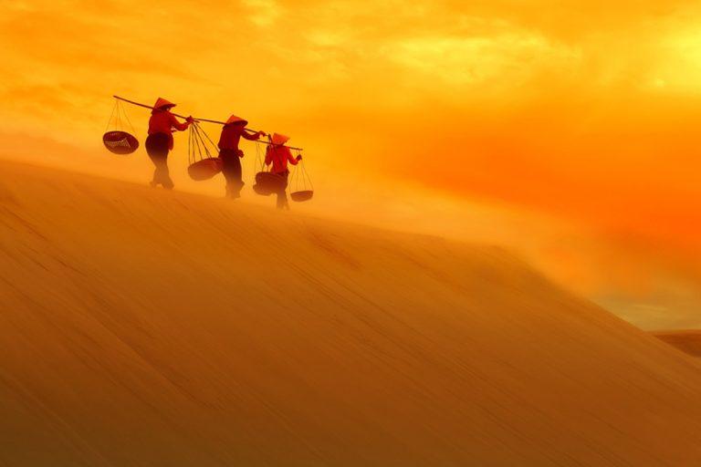 Hình ảnh thiên nhiên đồi cát