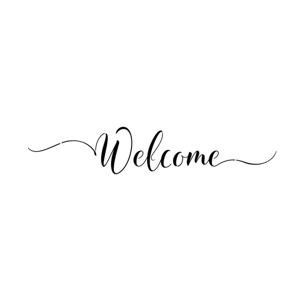 Hình ảnh welcome đơn giản nhất