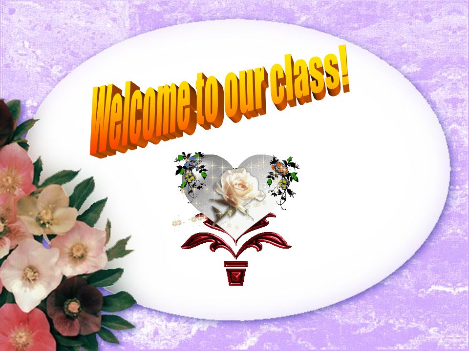 Hình ảnh welcome to our class cho powerpoint