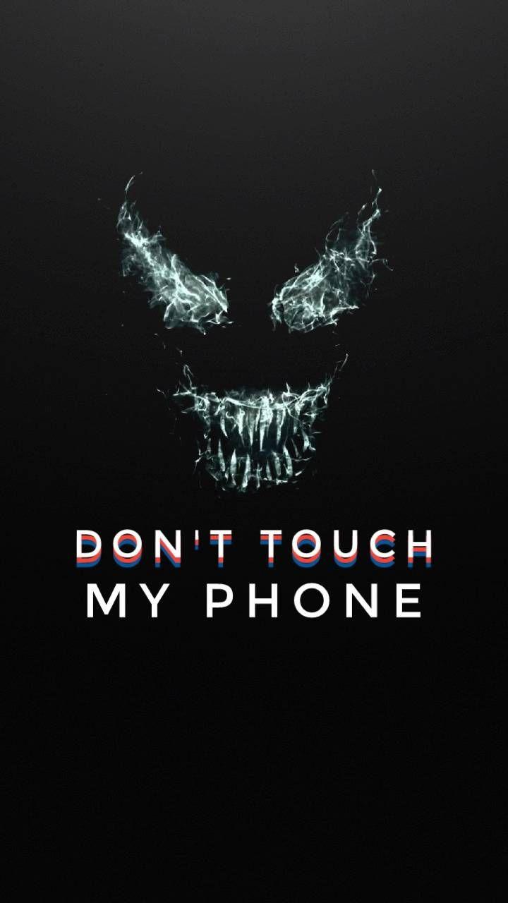 Hình khoá điện thoại kinh dị