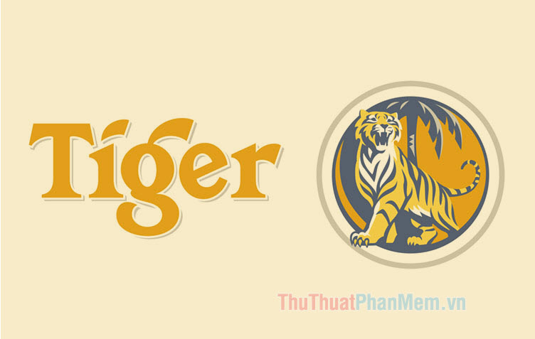 Logo bia Tiger (Vector, PSD, PNG)