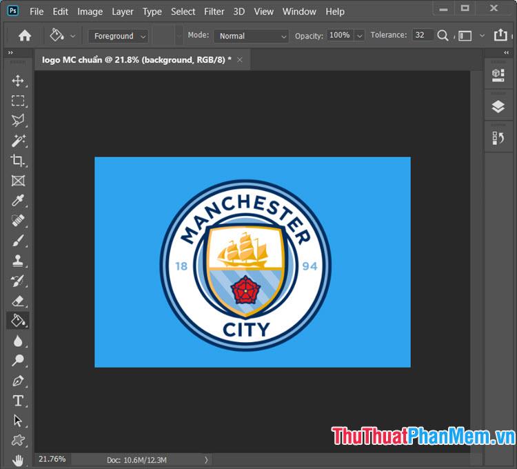 Logo Man City mùa 2019-2020