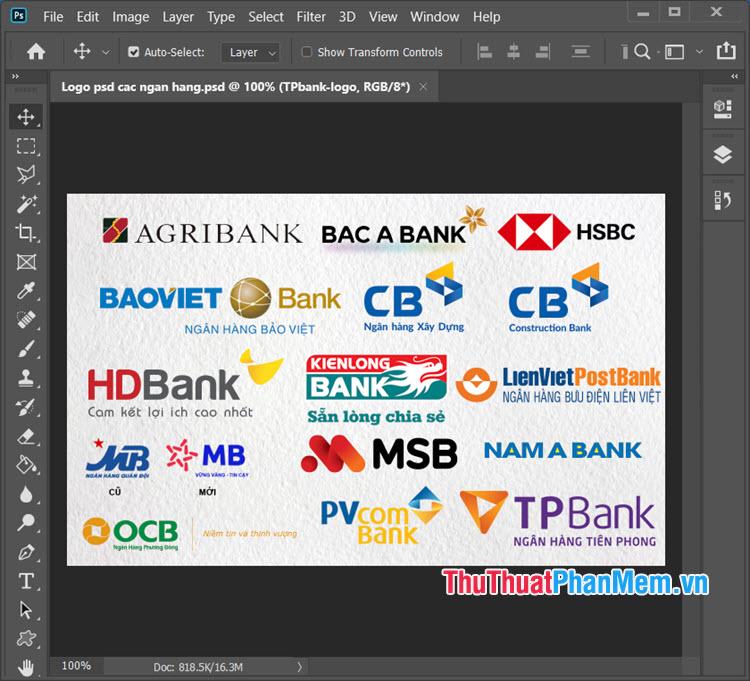 Logo ngân hàng Việt Nam và nước ngoài