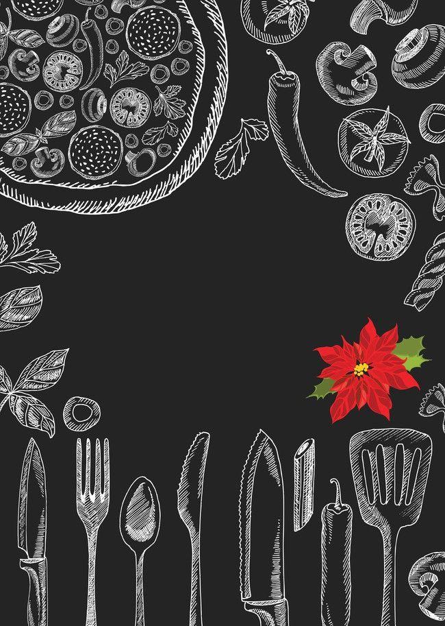 Mẫu background menu món ăn