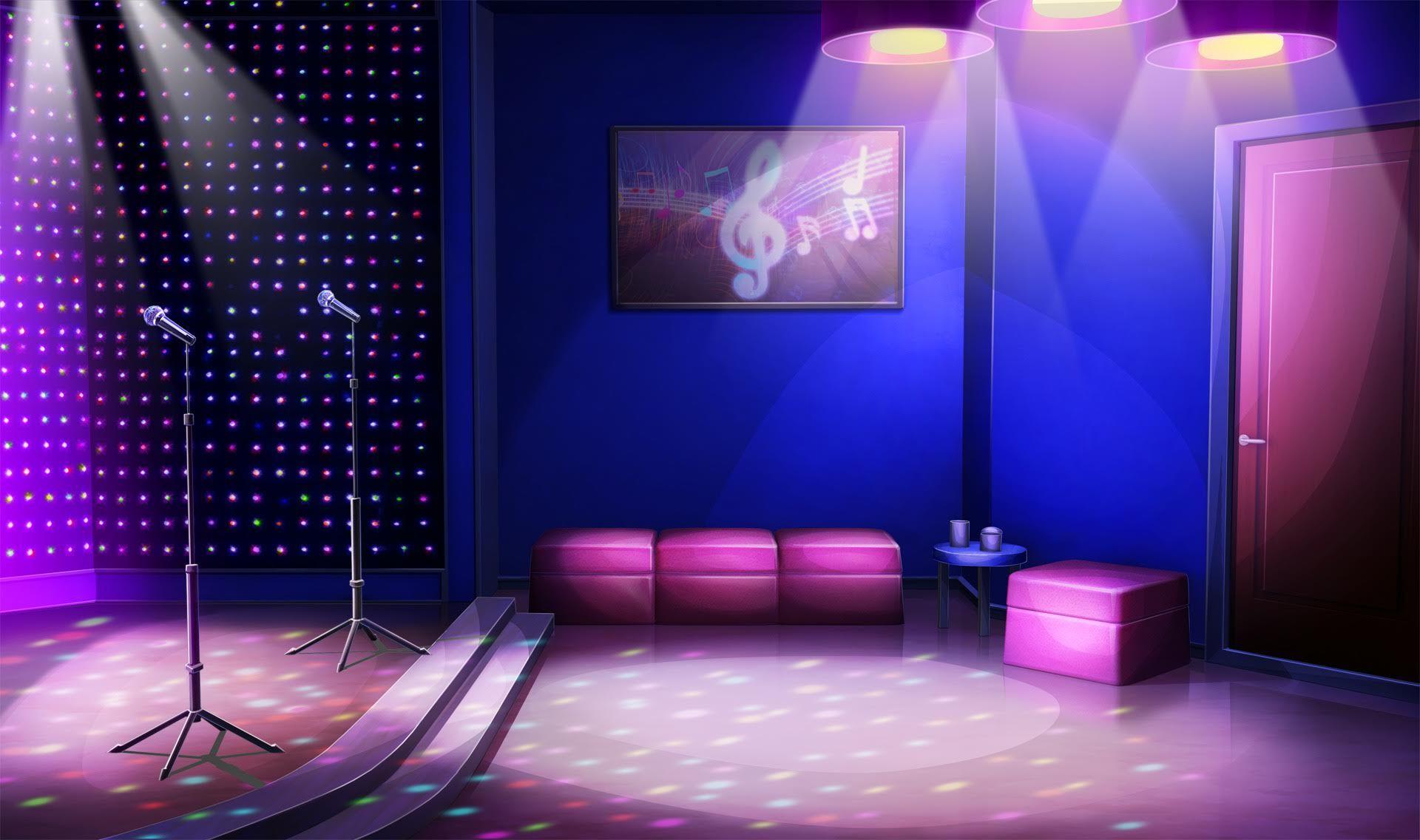 Mẫu Background phòng karaoke