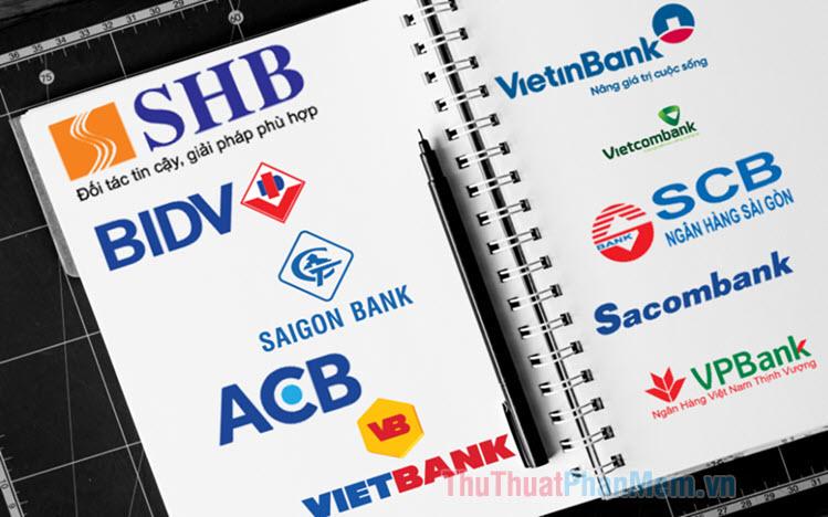Tổng hợp Logo ngân hàng (Vector, PSD, PNG)