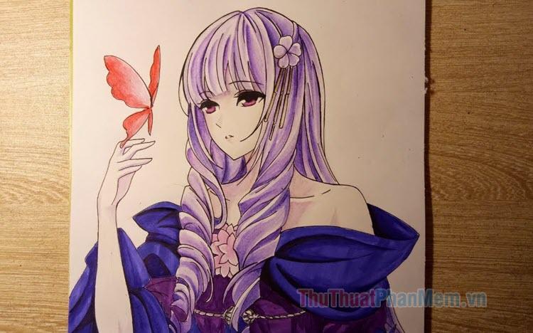 Tranh vẽ anime đẹp nhất