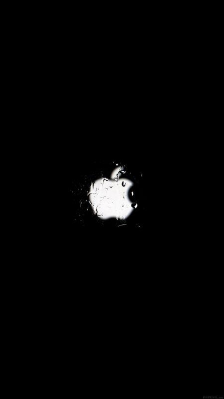 Ảnh đen logo apple