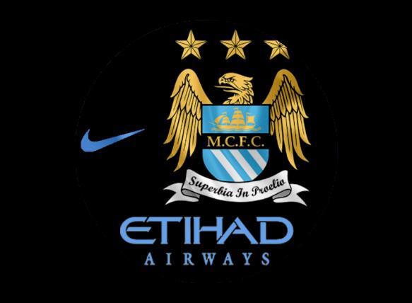 Ảnh logo Man City đen