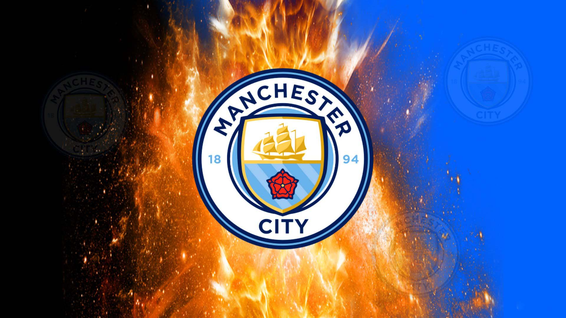 Ảnh nền logo Man City